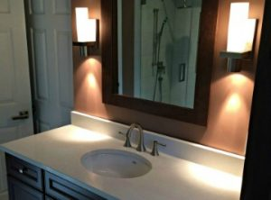 Powder room Vanity Case Design/Remodeling Halifax