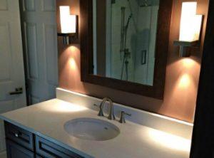 Powder room Vanity Case Design/Remodeling Halifax