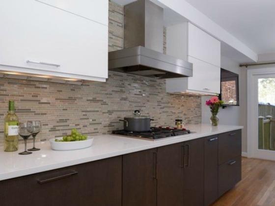 Interesting Kitchen Tile Backsplash
