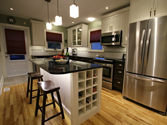 Don 39 T Forget About Wine When Plan For Kitchen Design