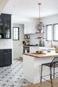 Cement Tile - Halifax Kitchen