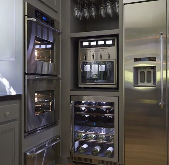 Don't Forget About Wine When Plan For Kitchen Design