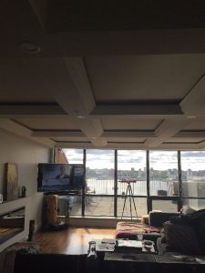 Dartmouth Condo Renovation tray ceiling Case Design Remodeling Halifax