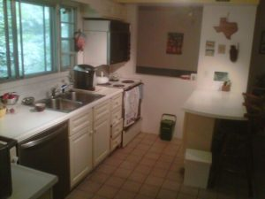Before kitchen renovation Halifax