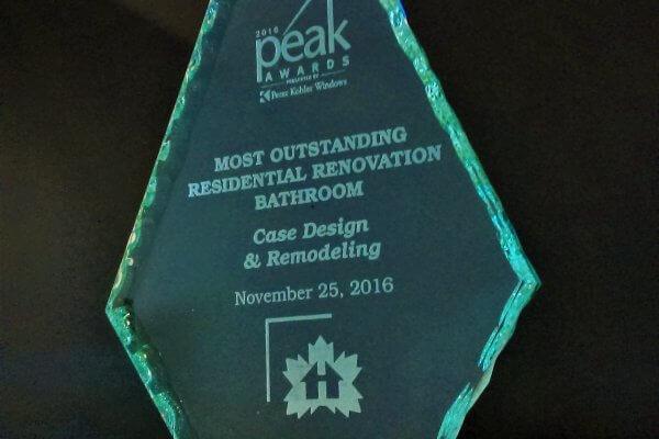 2016 Peak Awards Winning Team