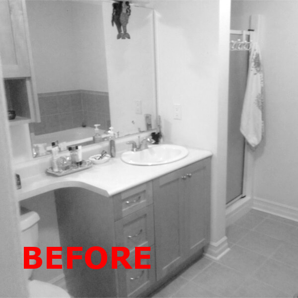 before bathroom remodel case design halifax