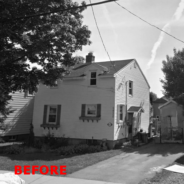 before home addition photo