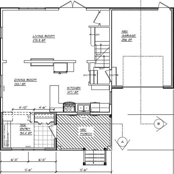 floor plan addition