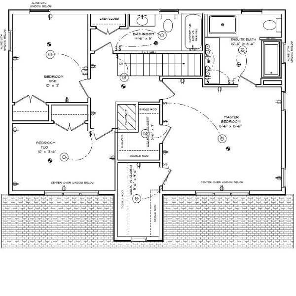 second story addition floor plan