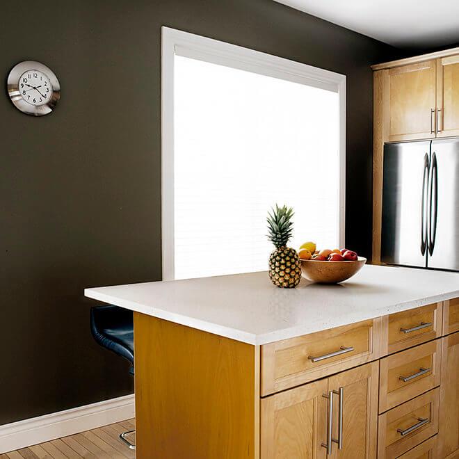 kitchen island counter top update and cabinet refacing Halifax Case Design