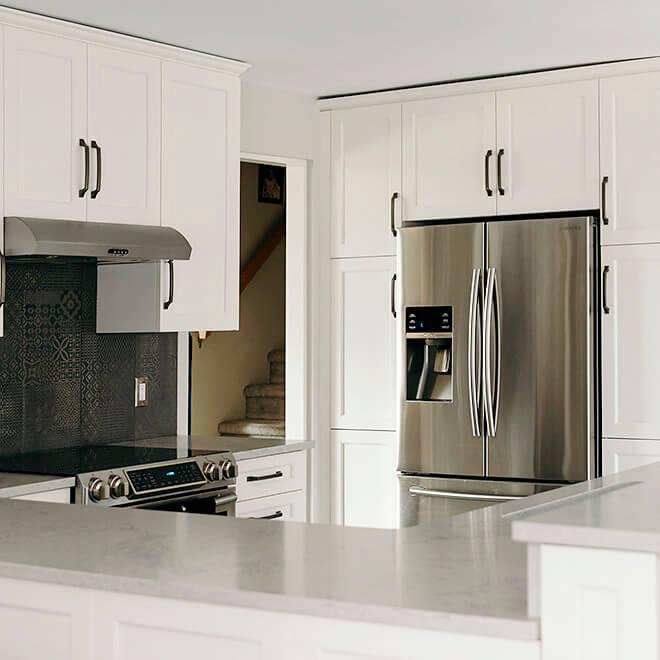 new contemporary kitchen custom design by Case Design Halifax