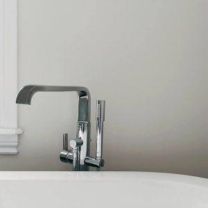 bathtub faucet detail Halifax North End Bathroom Remodel