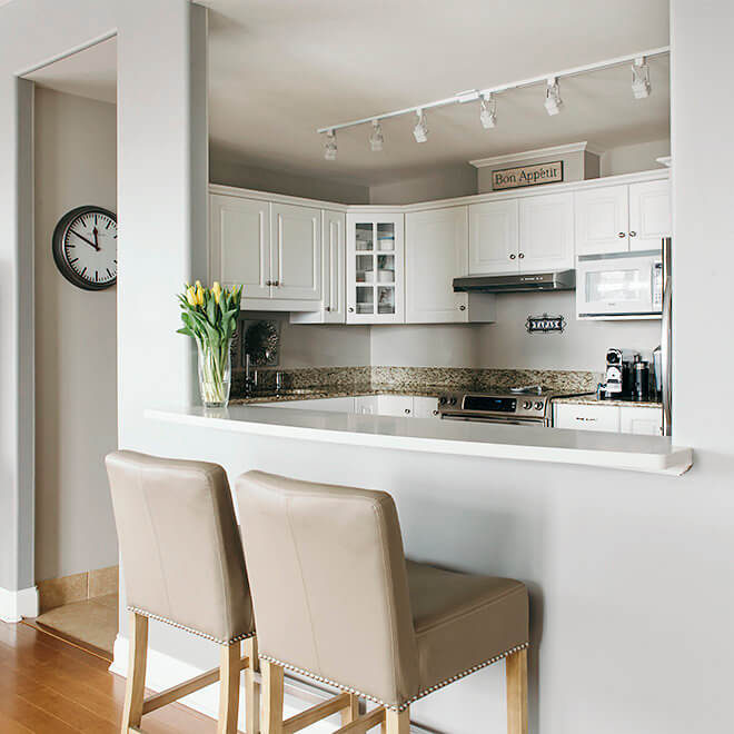 Le Roux Kitchen: Halifax Condo Upgrades And Beautiful Finishes