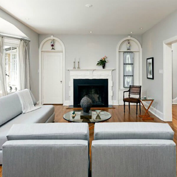 Interior Livingroom Renovation Case Design Halifax