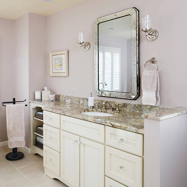 Bathroom addition vanity