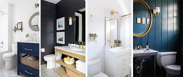 Bathroom colour palette