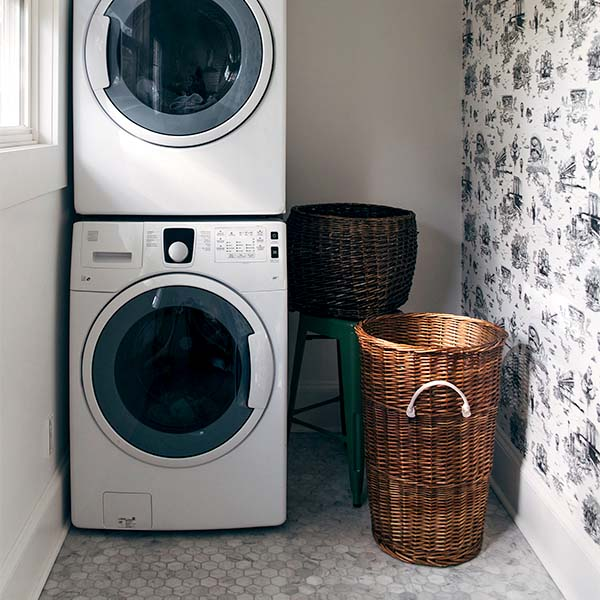 Kitchen Laundry brooklyn toile wallpaper