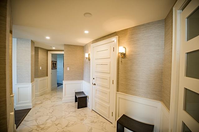 Whole Home Condo Renovation Halifax Foyer Entrance Case Design