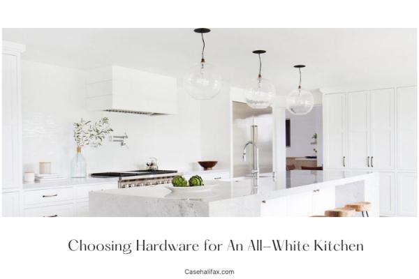hardware for white kitchen