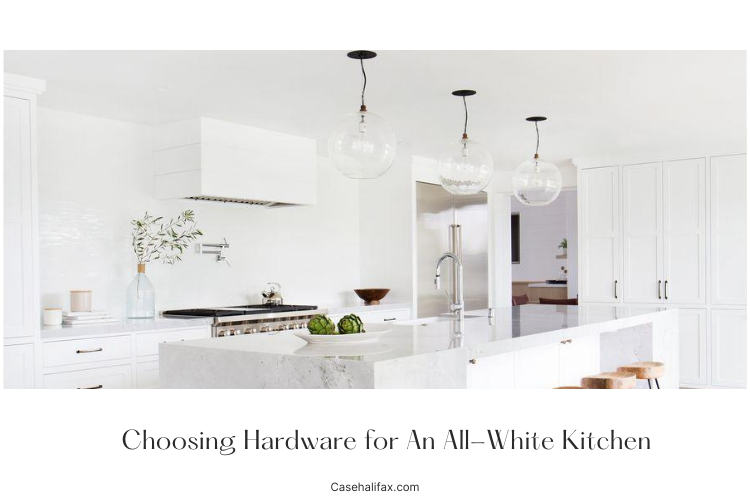 hardware for white kitchen
